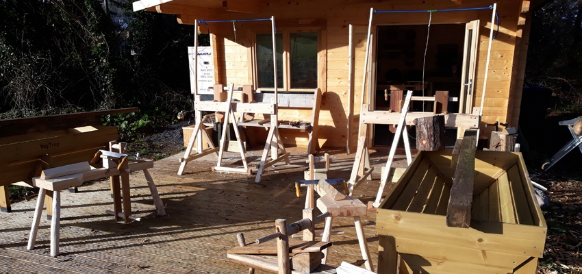 Funding from The Armed Forces Covenant Fund Trust for Woodworking Warriors